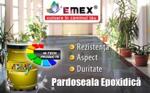 Pardoseala Epoxidica Decorativa