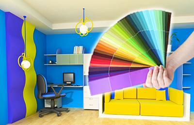 Alegerea culorilor la interior