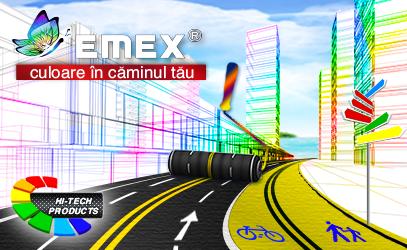 Marcare rutiera Emex Route