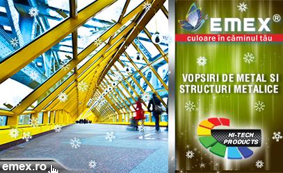 Protectia structurilor metalice iarna